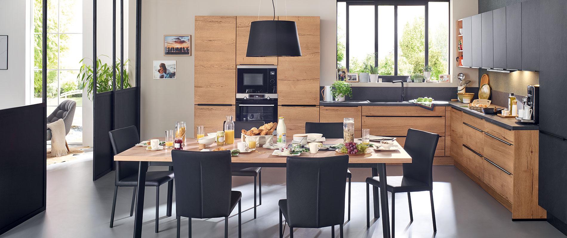 Cuisines équipées, cuisines sur mesure & rangements   Ixina France